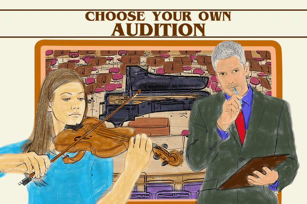 Choose your own Audition