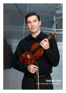 Nathan Cole, violin