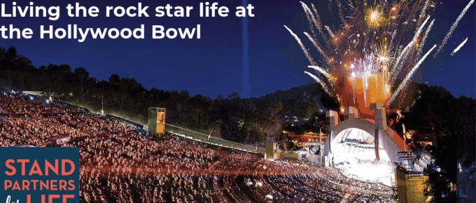 Living the rock star life at the Hollywood Bowl