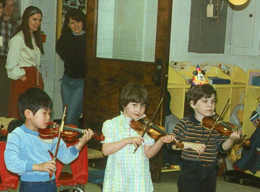 Birthday Nate with Suzuki kids