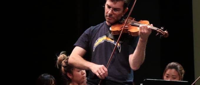 Nathan Cole plays Beethoven with the Milstein Strad