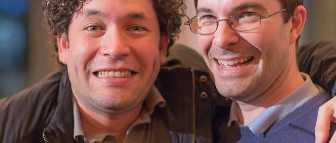 Gustavo Dudamel and Nathan
