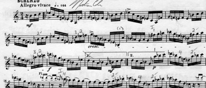 Schumann scherzo
