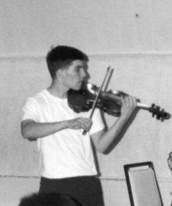 Nathan at DC Summer Music Institute, 1993